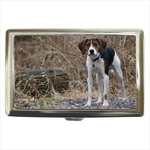 English Foxhound Cigarette Money Case - Dog Canine - $12.56