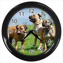 Boerboel Wall Clocks - Dog Canine - $17.41