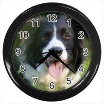 Border Collie Wall Clocks - Dog Canine - $17.41