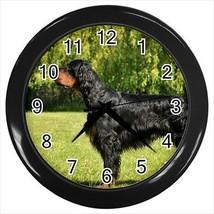 Gordon Setter Wall Clocks - Dog Canine - $17.41