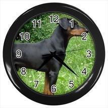 German Pinscher Wall Clocks - Dog Canine - $17.41