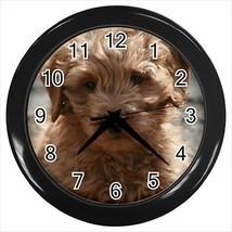 Goldendoodle Wall Clocks - Dog Canine - $17.41