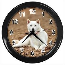 Kishu Wall Clocks - Dog Canine - $17.41