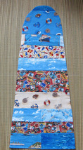 "Fiddle/Violin/Blanket/ Bag For 4/4 fiddle/14"" Viola/Nautical Patchwork  - $25.00"