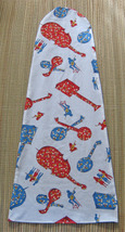 "Fiddle/Violin Blanket/Bag For 4/4 fiddle/14"" Viola/Hootenanny Print - $14.50"