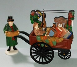 """Dept. 56 Heritage Village Collection """"Chelsea Market Curiosities Monger ... - $13.99"""
