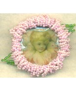 Victorian Style Beaded Brooch 2 - $9.83