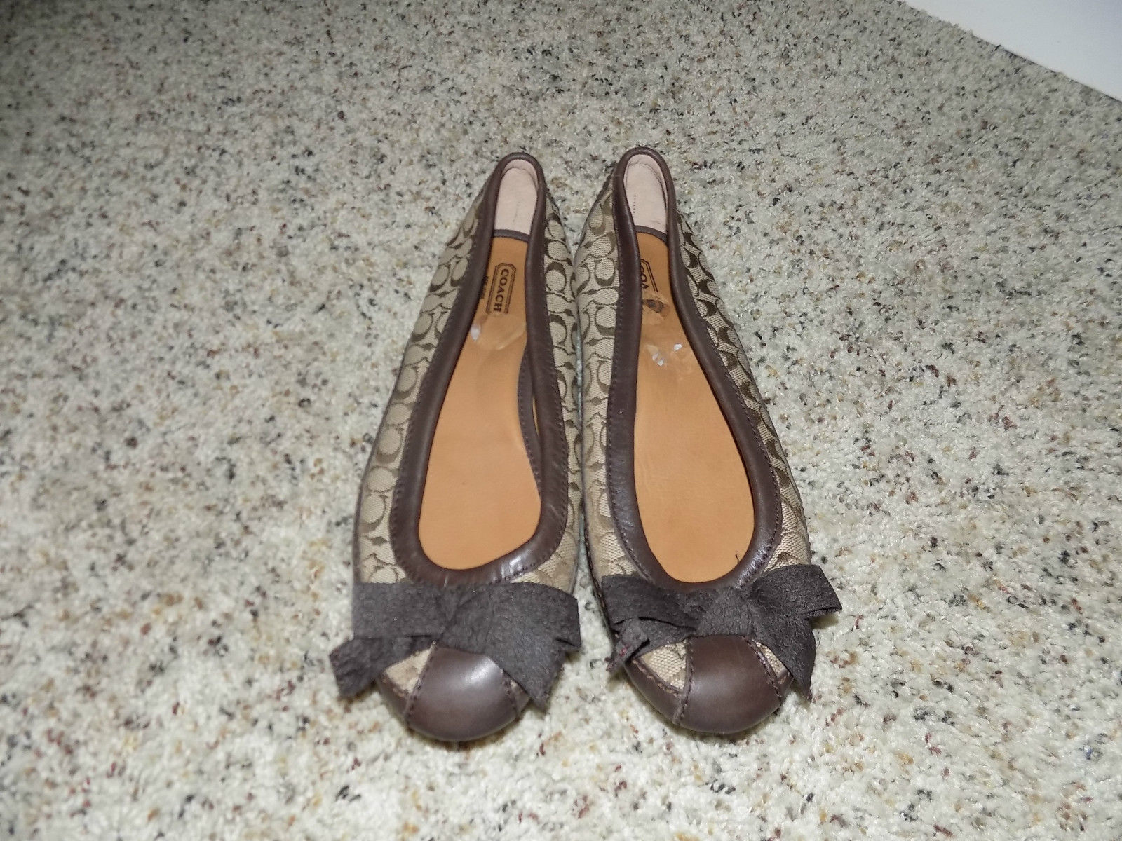ac07947502d Coach Saundra Shoe Sig C Loafer Brown Beige and 50 similar items. S l1600 84