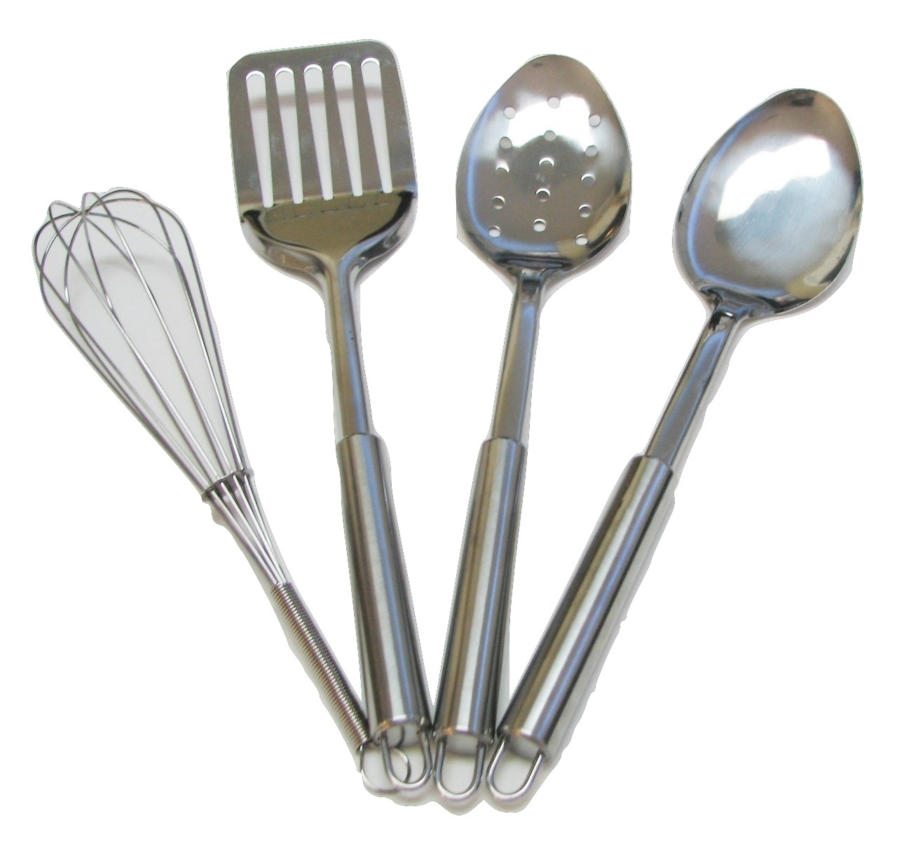 4 Piece Stainless Steel Kitchen Utensil Set And Similar Items