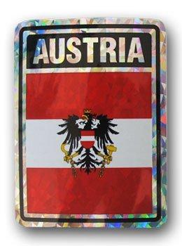 Austria reflective decal 5059
