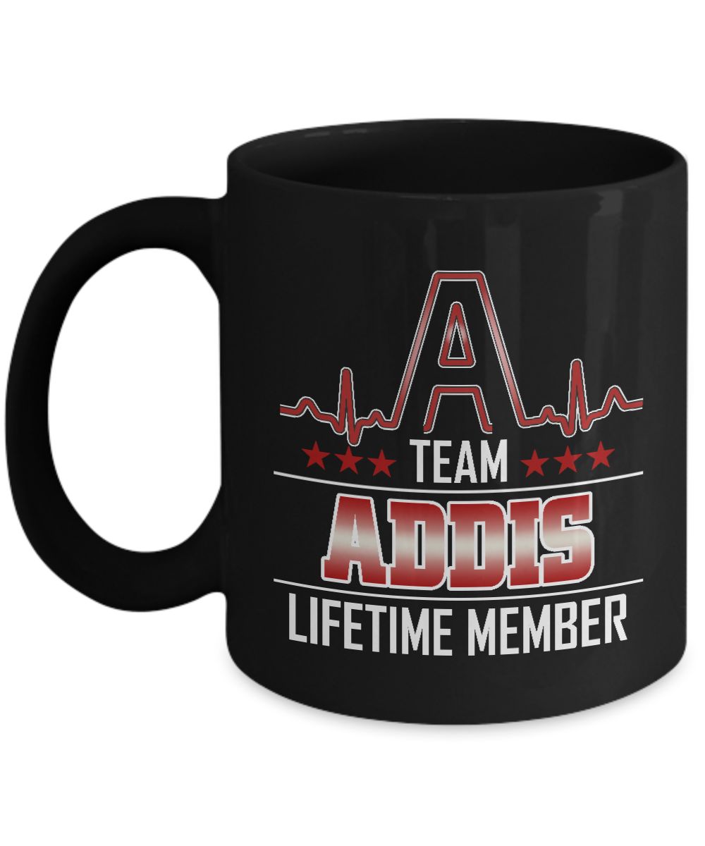 Customizable Birthday Mug With Name Is ADDIS or Great Grandpa - Team ADDIS Lifet