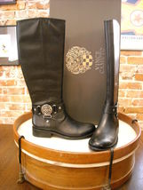 new vince camuto farrow boots leather equesterian KNEE HIGH woman size 6... - $139.00