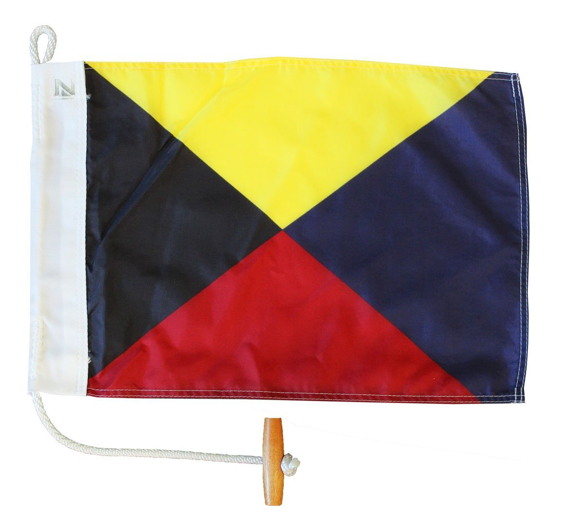 Letter Z - Nautical Code Signal Nylon Flag