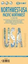 USA Northwest - Laminated Borch Road Map - $11.94