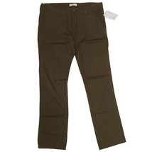 RVCA JUNIP Womens 100% Cotton Twill Pant Brown ... - $34.00