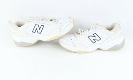 Vintage New Balance Womens Size 9 2A 624 Leather Walking Shoes Sneakers White - $69.25
