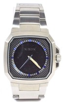 Nixon THE DECK Mens Solid Stainless Steel Band Quartz Hand Wristwatch NEW - $37.50+