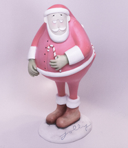 Holiday Sale!  New In Box, Demdaco Snow Glorious Snow Jolly Santa Figurine - $4.95