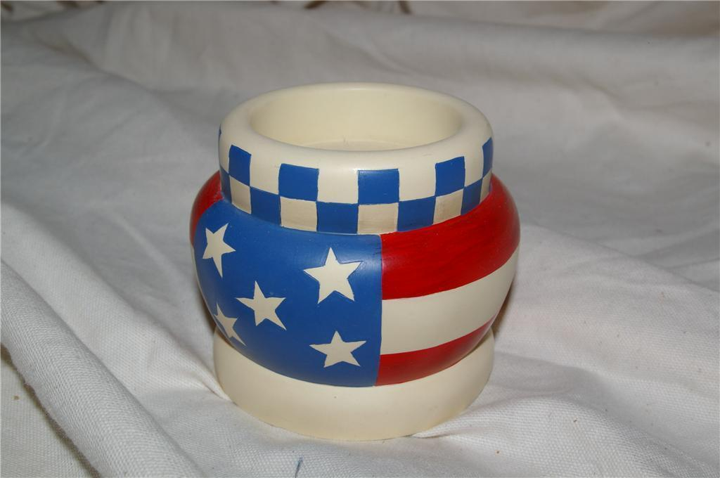 PartyLite Americana Tealight Party Lite RETIRED