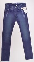 RVCA NOVA COLORS Womens Skinny Jeans Eclipse Aged Blue Size 27 Waist NEW - $34.75
