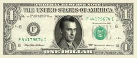ROBERT KNEPPER T-Bag Prison Break on REAL Dollar Bill Cash Money Bank Note - $4.44