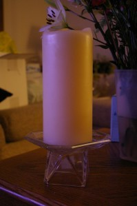 Partylite Discover Pillar Holder Party Lite