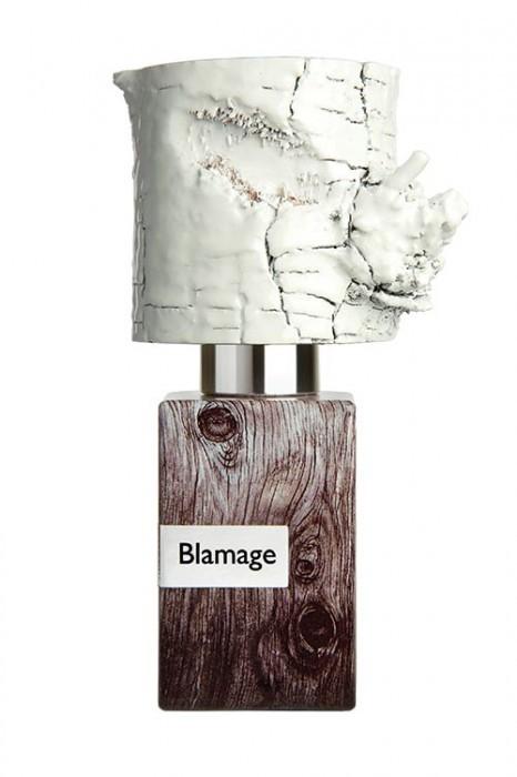 BLAMAGE by NASOMATTO EXTRAIT PARFUM 5ml Travel Spray CITRUS AMBROX WOOD