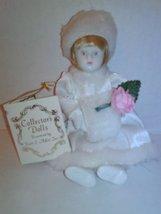 Kurt S Adler 1983 White Silk Fur Porcelain Coll... - $10.95