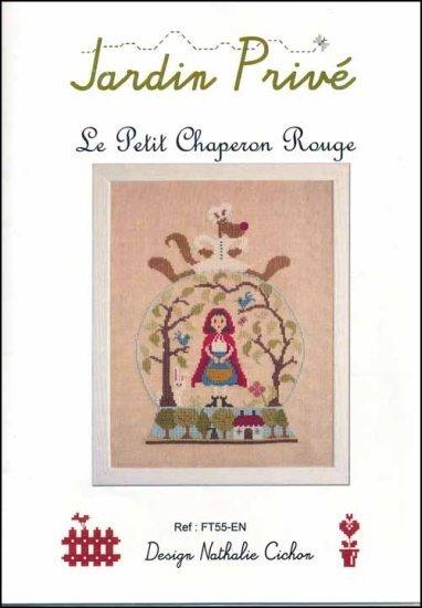 Le petit chaperon rouge cross stitch chart jardin prive for Jardin prive