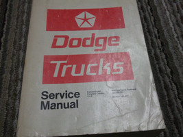 1972 1973 Dodge Truck Lkws 100-800 4x4 Forward Con Shop Service Reparatur Manual - $99.65