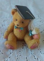Priscilla Hillman 1995 Graduate Teddy Bear Reg. No. 9P7/634 Collectible Figurine - $6.95