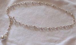 Silver Anklet Capri - $16.00