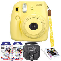 Fujifilm Instax Mini 8 Instant Film Camera Yell... - $111.38