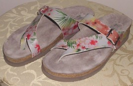 MEPHISTO HELEN WOMEN'S SHOES SANDALS AIR-RELAX GRAY FLORAL US SIZE 7 EUR... - $119.99