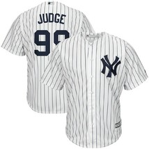 Aaron Judge New York Yankees Majestic Home Pinstripe Cool Base Jersey Ad... - $109.99
