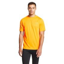 C9 By Champion Men's Duo Dry S/S Crew Neck Tech Tee Shirt S - L Tangerine - $12.99