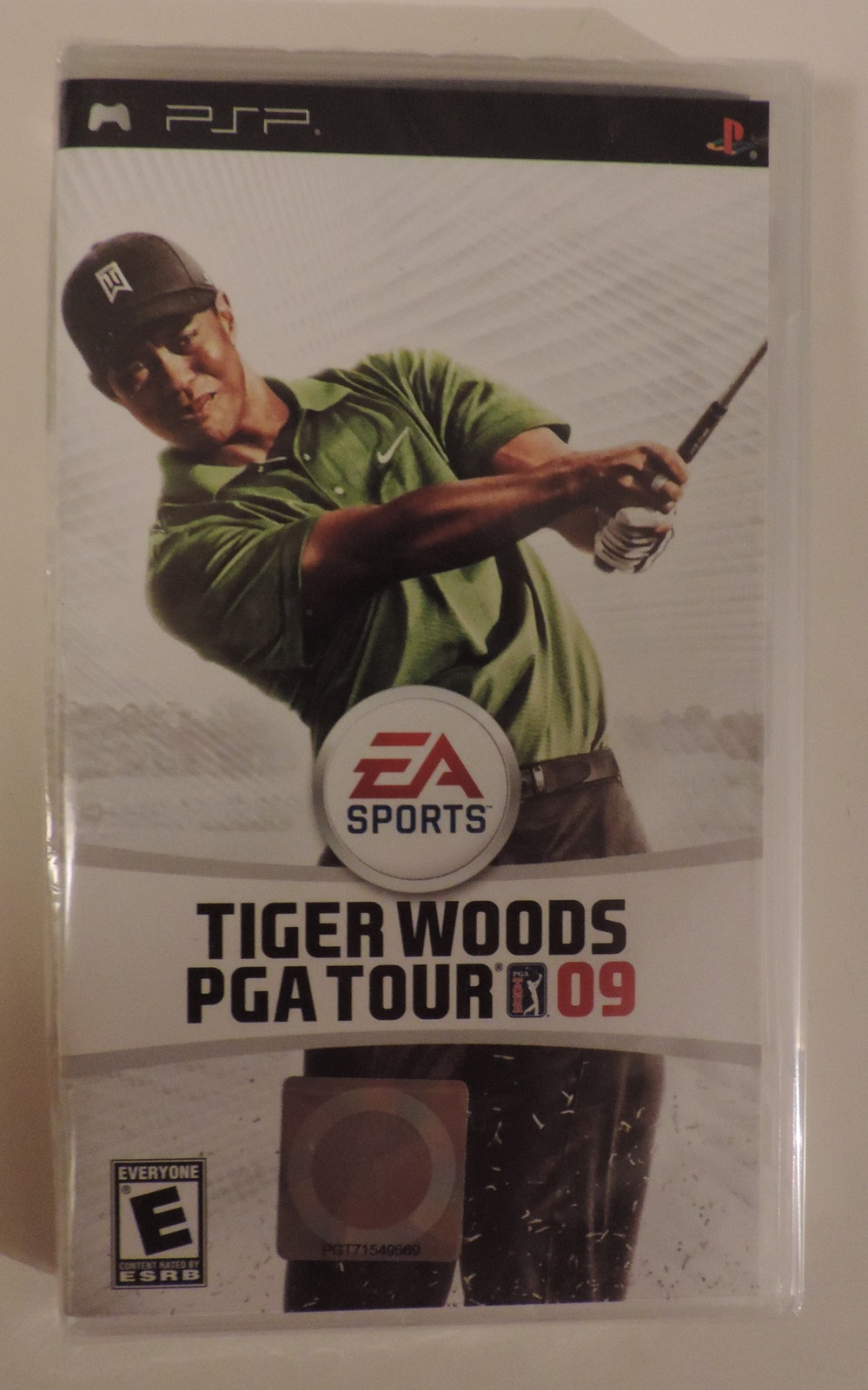 PSP PlayStation Portable Tiger Woods PGA Tour 09 golf video game - New Generic