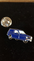 robin reliant in blue   tie pin, Lapel Pin Badge, in gift box