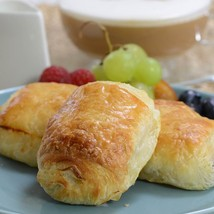 Chocolate Croissant (Pain au Chocolat) - 1.25 oz, Unbaked - 60 total, 1.25 oz ea - $51.98