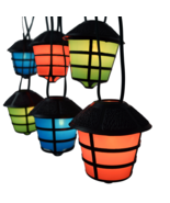 C7 Coach - Rv Retro Lantern - Party Light string for Campers, decks, pat... - $139.00