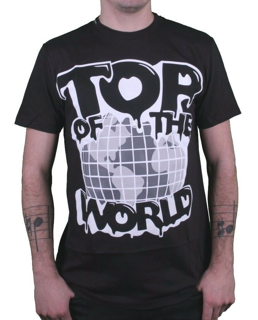 Dope Couture On Top Of The World Black T-Shirt