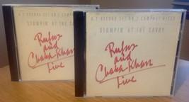 Stompin' At The Savoy (2 Cd Set) Rufus & Chaka Khan Live  - $24.00