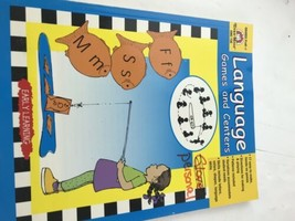 Evan-Mor Early Learning Language Games and Centers Elementry Workbook  - $15.84