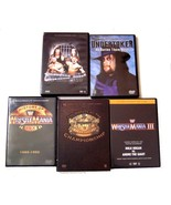 Lot of 5 World Wrestling Entertainment DVD Movies & Sets    - $37.99