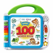 LeapFrog Learning Friends 100 Words Book Frustration Free Packaging, Green - $50.88
