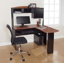 Computer Laptop Desk L Shaped Student Workstation Home Office Storage Fu... - $119.70