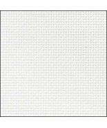 White 20ct Aida 36x21 cross stitch fabric Zweigart - $15.30