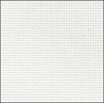White 20ct Aida 10x18 cross stitch fabric Wichelt - $4.25
