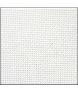 Antique White 20ct Aida 36x43 cross stitch fabric Zweigart - $30.60