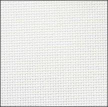 Antique White 20ct Aida 18x21 cross stitch fabric Zweigart - $7.65